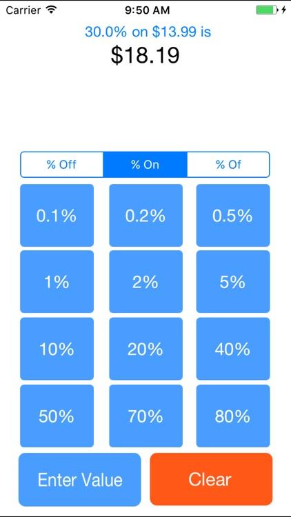 Devalluator - Percentage Calculation Tool