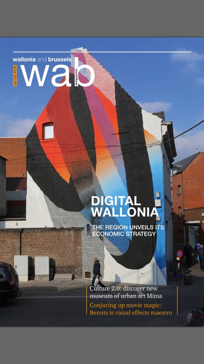 WAB Magazine: The Voice of Wallonia and Brussels screenshot-4
