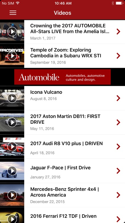Automobile Magazine News screenshot-3