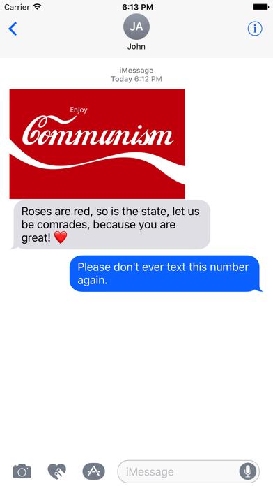 Comrade Stickers