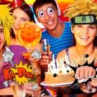 Anime manga pegatinas avatar editor cámara foto icon