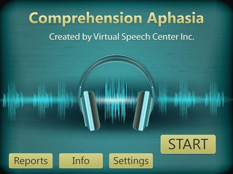 Comprehension Aphasia