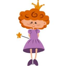 Me Princess stickers by Raimondas