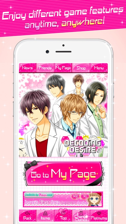 Dating Sims iPhone apps
