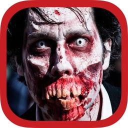 Photo editor with dead zombies stickers