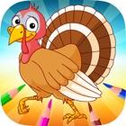 土耳其&鸡进化 - 为我着色的书 icon