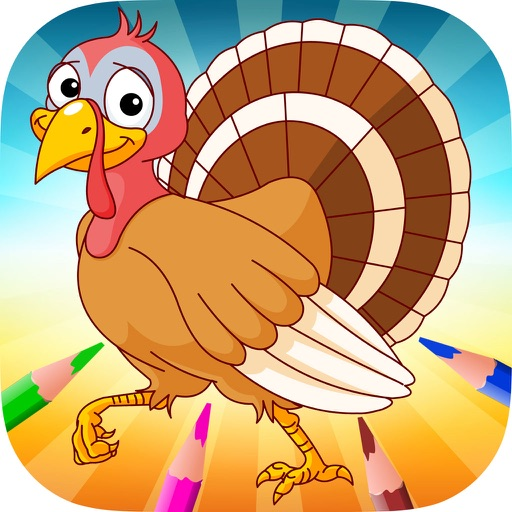 Turkey & Chicken Evolution - Coloring book for me by Marut ...