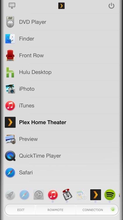Rowmote Pro: Remote Control for Mac screenshot-3