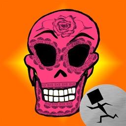 Southwest Sugar Skull Stickers
