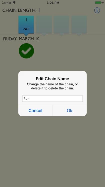 The Chain - Don't Break the Chain