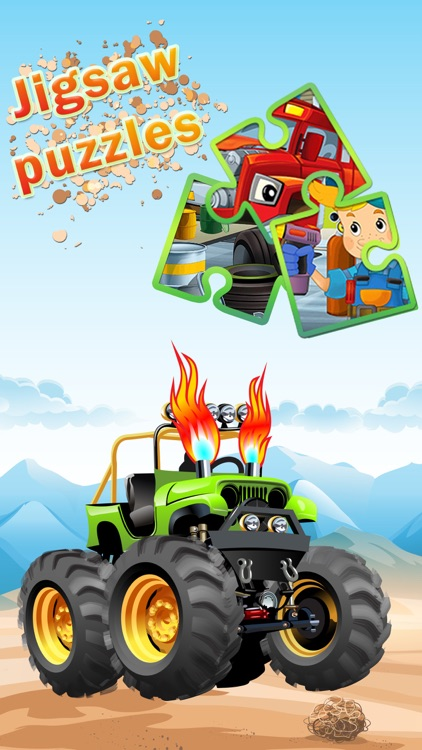 Cars Puzzles Game