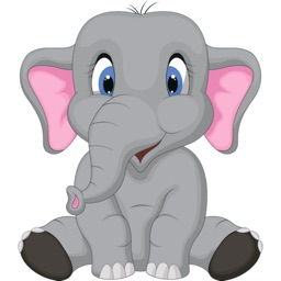 Elephant Lovely Stickers