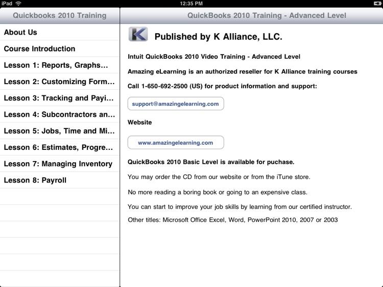 Video Training for QuickBooks Advanced Users screenshot-3