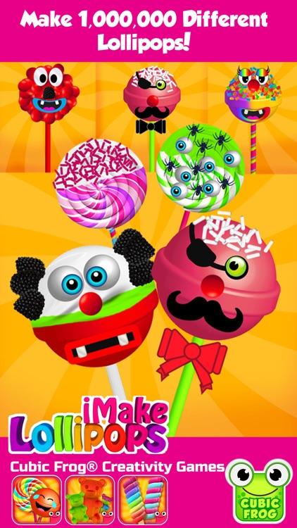 Candy Maker Food Games-iMake Lollipops for Kids screenshot-4
