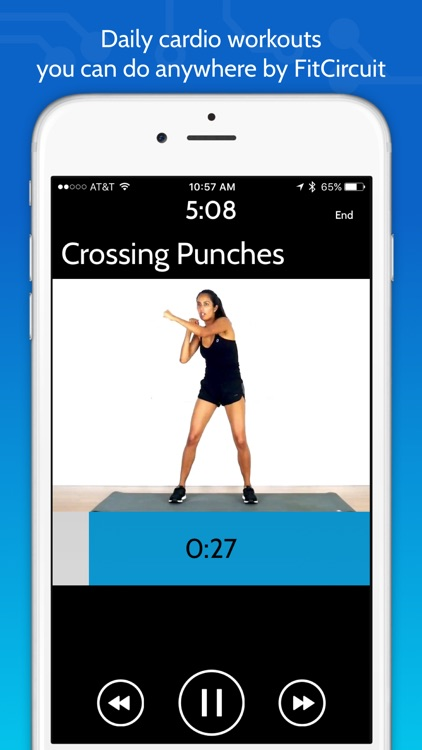 Daily Cardio Workout Trainer by FitCircuit