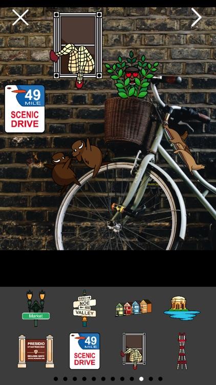 San Franciscoji Sticker Photo Booth screenshot-3
