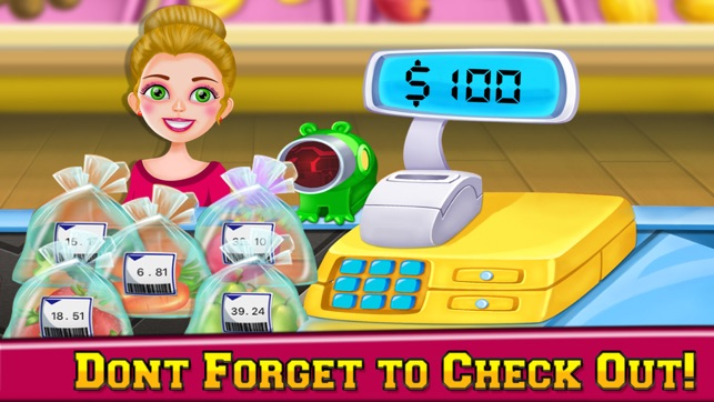 Supermarket Grocery Girl - Kids Shopping Games on the App Store