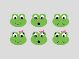 Frog Sticker Pack for iMessage
