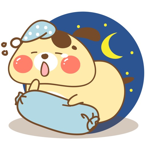Fat dog for iMessage Sticker
