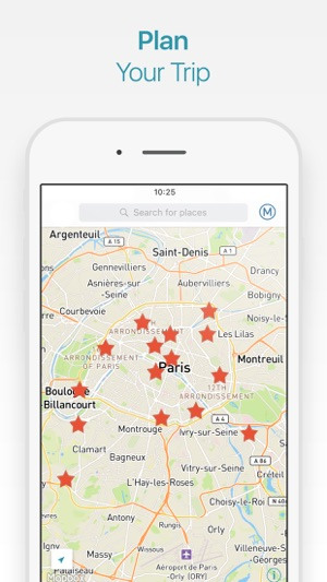 Paris Travel Guide And Offline City Map On The App Store