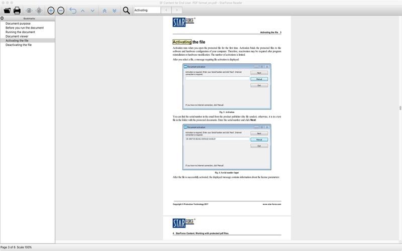 StarForce Reader скриншот программы 3