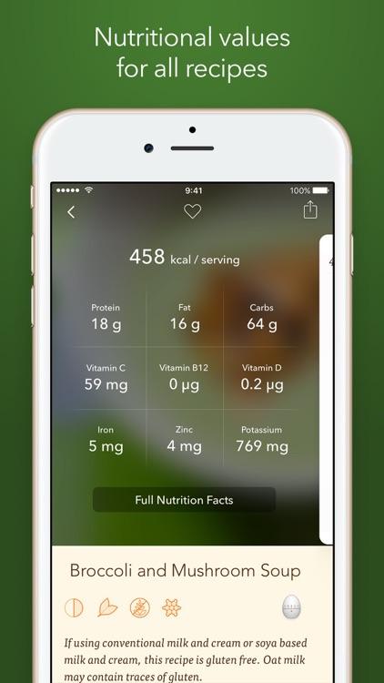 Veggie Meals – Simple Vegetarian Recipes screenshot-4