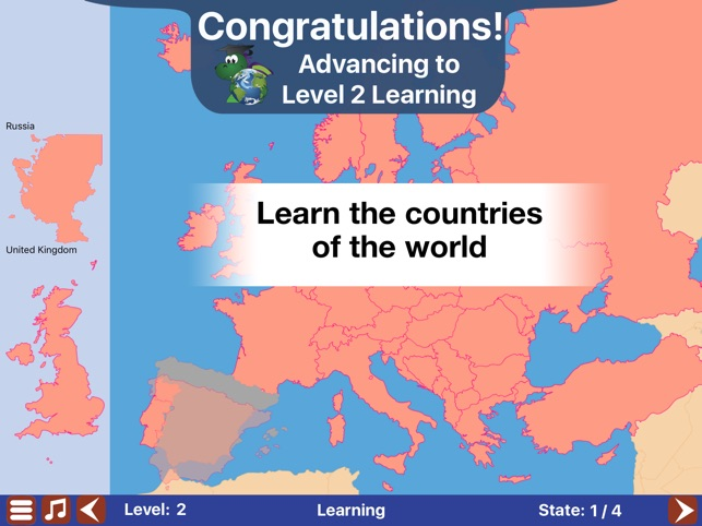 Geo touch learn geography on the app store gumiabroncs Choice Image
