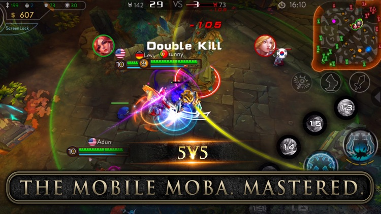 Ace of Arenas - The Mobile MOBA Mastered