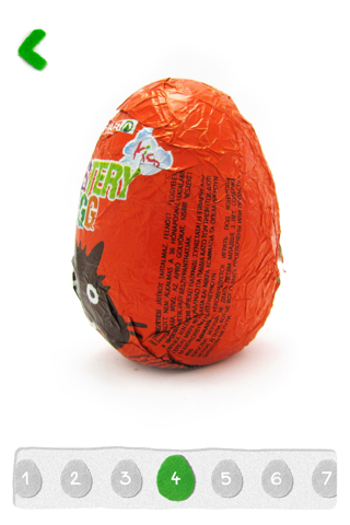 Surprise eggs - chocolate toys - náhled