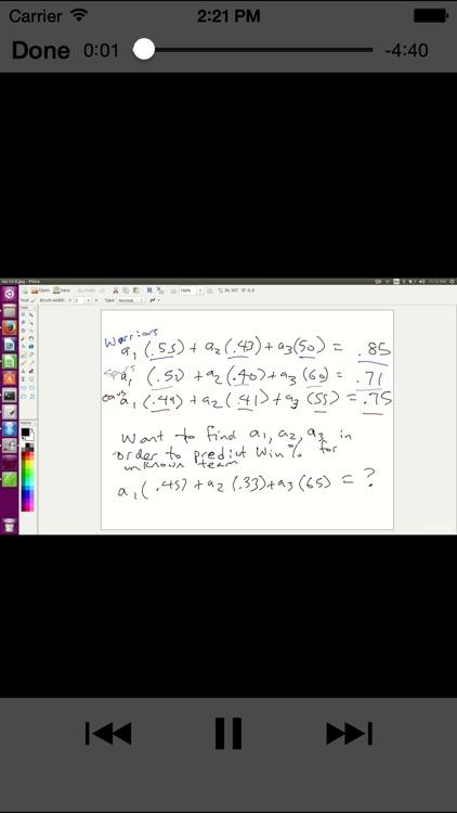 Learning Linear Algebra screenshot-4