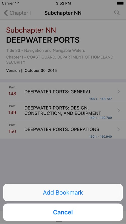 33 CFR - Navigation and Navigable Water (LawStack)