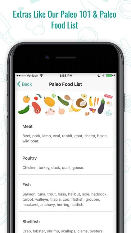 Paleo Leap: Official App screenshot-4