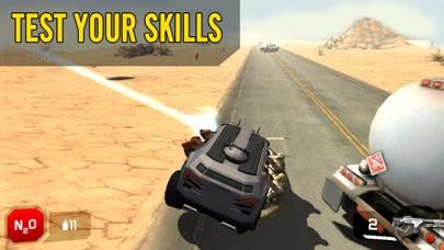 ゾンビロードハイウェイ:無料レーシング&シューティングゲームのスクリーンショット3