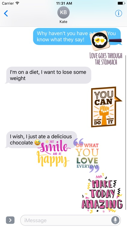 Quotes Stickers Effects App