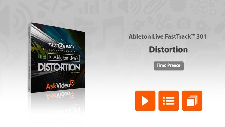 FastTrack™ For Ableton Live Distortion