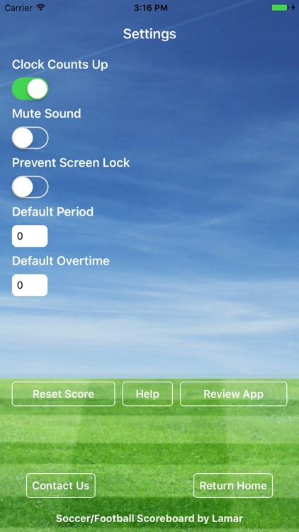 Soccer Football Scoreboard Pro - Game Scorekeeper screenshot-2
