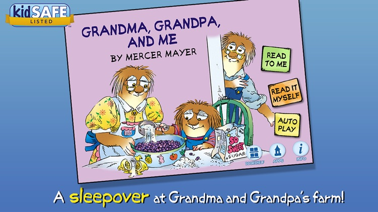Grandma, Grandpa, and Me - Little Critter
