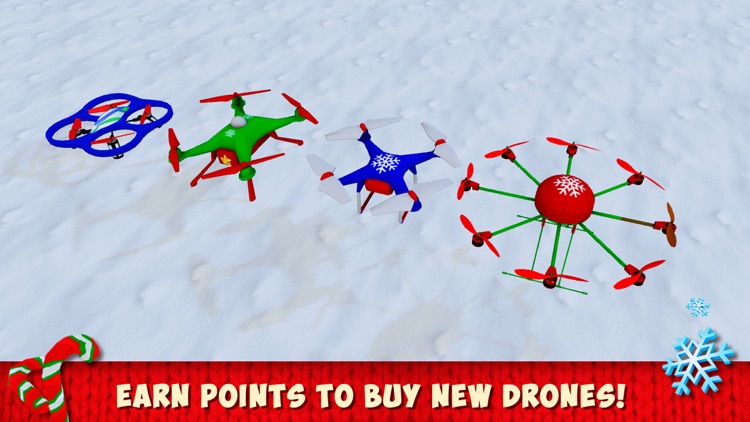 Christmas Cartoon Quadcopter Drone Simulator screenshot-3