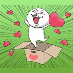 Love Just For You - Funny And Crazy Stickers !!!