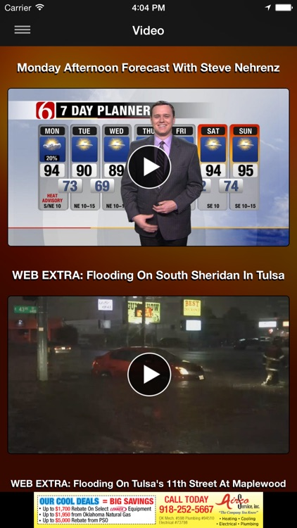 News on 6 Weather screenshot-4