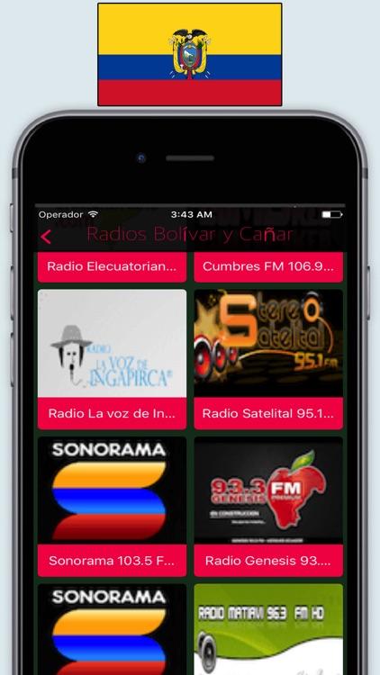 Radios Ecuador FM AM / Radio Stations Online Live screenshot-3