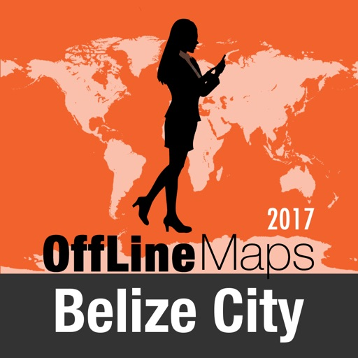 Belize City Offline Map and Travel Trip Guide
