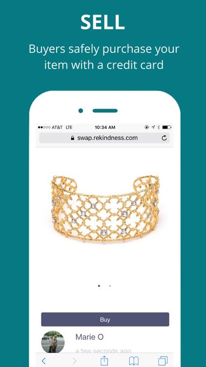 SWAP Club: sell things socially screenshot-3