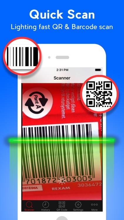 QR Code Scanner  - QR Reader & Barcode Scanner