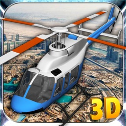Flight Pilot Helicopter Game 3D: Flying Simulator