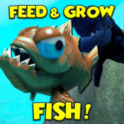 Fish grow feed simulator by steven laster for Fish eat and grow