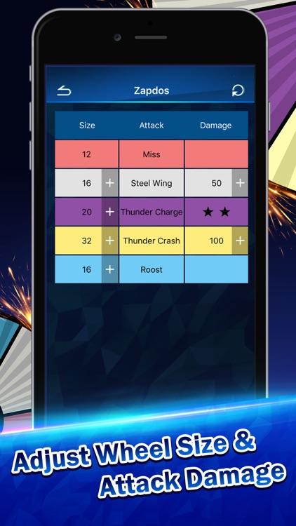 Battle Calculator for Pokemon Duel by xiaofei hu