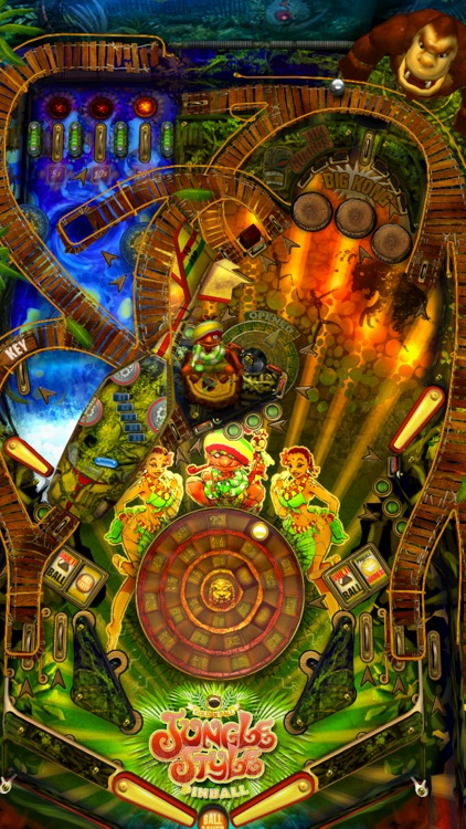 Jungle Style Pinball screenshot-2