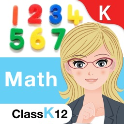 Kindergarten Kids Math Game: Count, Add, KG Shapes