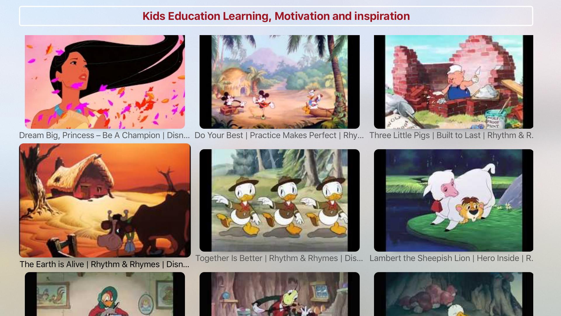 KIDS Tube - HD Kids TV screenshot 4
